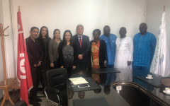 Visite de la délégation de la Centrale d'Achat des Médicaments Essentiels