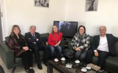 Visite de la présidente de la Société Tunisienne de cardiologie et de